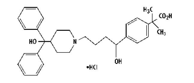 Fexofenadine Hydrochloride