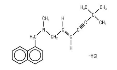 Clorhidrato de terbinafina