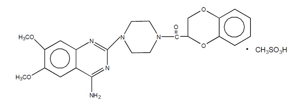 甲磺酸多沙唑嗪-API
