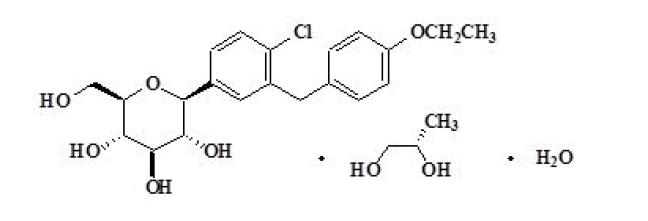 Dapagliflozina (monohidrato de solvato PG)-API
