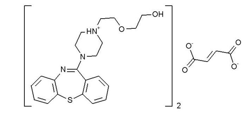 富马酸喹硫平-API