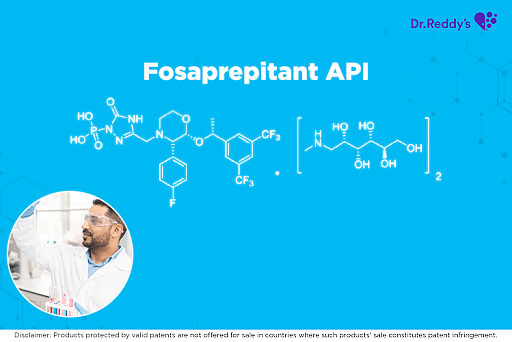 Dr. Reddy's Fosaprepitant API offerings